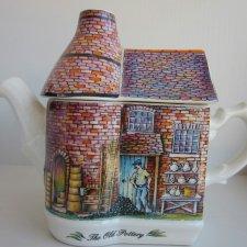 Rarytas od Sadler  Reg. design No. 2026099   kolekcjonerski i użytkowy imbryk - dzbanek porcelanowy