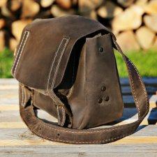 4e1d57f7ba12c Torebka skórzana , mała torba na ramię , NavahoClothing