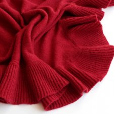 EXCLUSIVE WOOL ANGORA SCARF