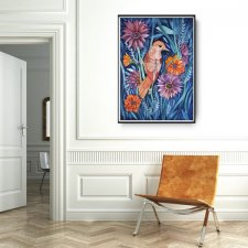 AUTUMN BIRD Plakat 50x70