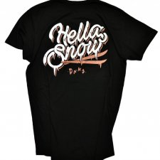 T-SHIRT HELLA SNOW FREERIDE XL