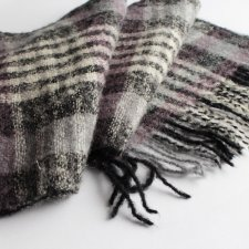 EXCLUSIVE mohair wool scarf