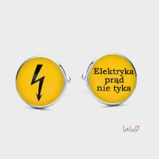 Spinki do mankietów ELEKTRYK