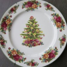 ŚWIĄTECZNY Royal Albert 1998 Old Country Roses - HOLIDAY CLASSIC COLLECTION