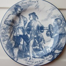 SCENES SHAKESPEARE -NORFOLK ROYAL CHINA - PRINTS ORIGINAL ENGRAWINGS DATED 1876