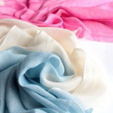 CASHMERE silk EXCLUSIVE SCARF Leatham Cashmere