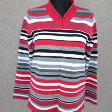 Sweter w pasy - 40