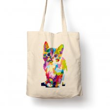 Torba - colorful cat