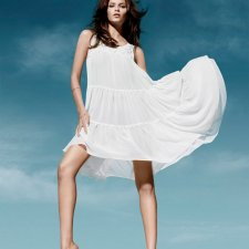 H&M Conscious Chiffon Dress