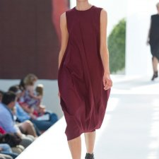 maroon bottle dress
