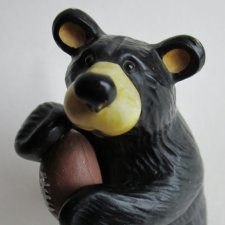 BEARS BY JEFF FLEMING - BEARFOOTS - ORYGINALNA SYGNOWANA FIGURKA