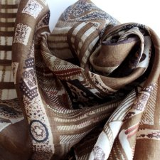 Silk scarf exclusive