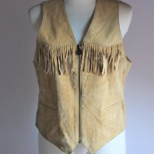 Petroff leather vest
