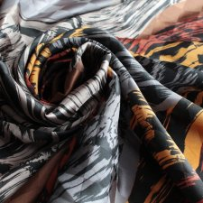 Exclusive pure silk scarf