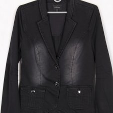 GEISHA black denim jacket S