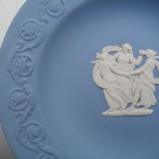 Wedgwood Antique blue jasperware