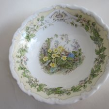 Royal Doulton BRAMBLY HEDGE  collection 1990 SPRING  by Jill  Barklem 1 kolekcjonerska miska  porcelanowa