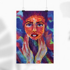 It girl  – plakat 30x40