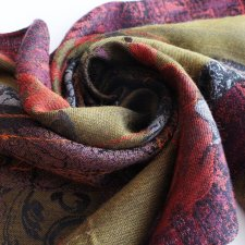 exclusive SILK WOOL scarf