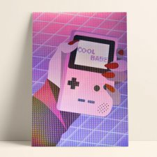 Holo gameboy – plakat 30x40
