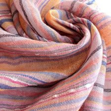EXCLUSIVE new scarf linen cotton