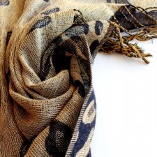 na prezent exclusive GOLDEN pashmina silk