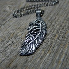 Feather Necklace Alma