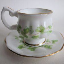 Lady Eleanor kolekcjonerska miniatura  english fine bone china