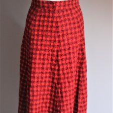 Vintage winter maxi skirt