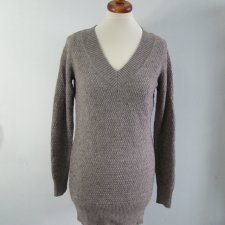 sweter beżowy S/M