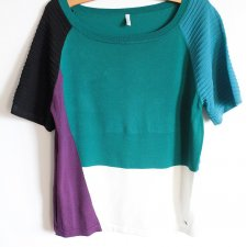 United Colors of Benetton vintage color block