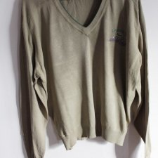 lacoste vintage sweter plus size oversize