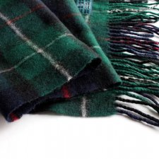EXCLUSIVE LAMBSWOOL SCARF Clans Scotland