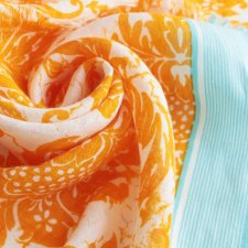 EXCLUSIVE scarf linen cotton