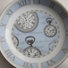 """TIME"" - Royal Worcester 1999 time in celebration of the New milenium 2000 A.D."