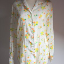 Long flower shirt
