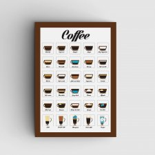 Coffee plakat A3