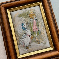 Beatrix Potter - Jemima Puddle Duck Frederick Warne & Co. Ltd. ❀ڿڰۣ❀ Haft Cah's