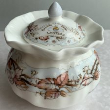 Brambly Hedge - Jill Barklem 1990r. ❀ڿڰۣ❀ ROYAL DOULTON - Winter ❀ڿڰۣ❀ Cukiernica
