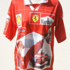 T-SHIRT POLO - FERRARI - SCHUMACHER