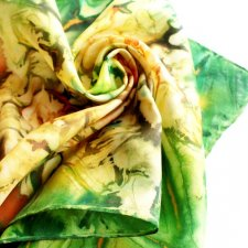 EXCLUSIVE 100% SILK scarf