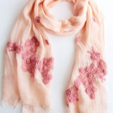 EXCLUSIVE linen scarf