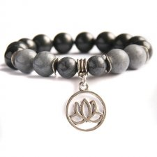 shades of grey :: lotus flower