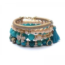 Turquoise and ivory /20-11-20/ - set