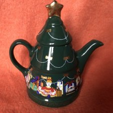 Wade kolekcjonerski imbryk / dzbanek A HAPPY CHRISTMAS TEAPOT design by Barry Smith and Barbara Wootton