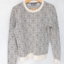 EXCLUSIVE lambswool sweater vintage Laura Ashley