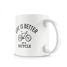 Kubek. Life is better on a bicycle