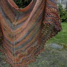 copper silk / chusta