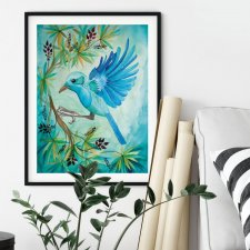 Jungle bird Plakat 30x40
