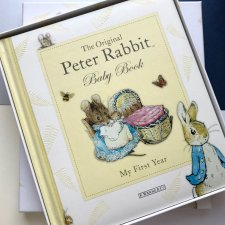 BEATRIX POTTER ❀ڿڰۣ❀ My First Year ❀ڿڰۣ❀ Peter Rabbit ❀ڿڰۣ❀ RZADKOŚĆ  ❀ڿڰۣ❀ Baby Book ❀ڿڰۣ❀